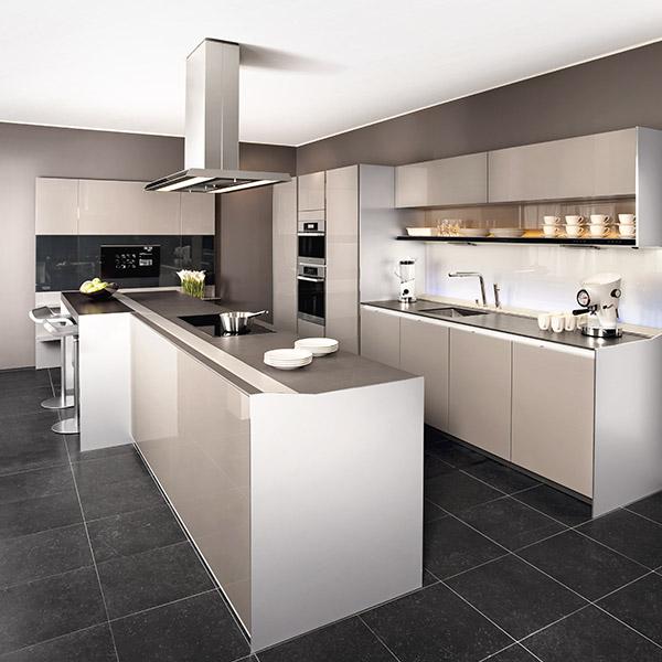 Voorbeelden moderne keukens - Moderne designkeuken ...