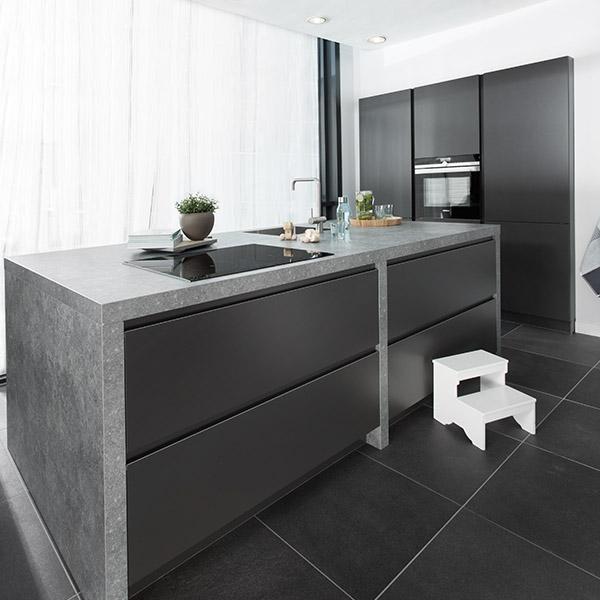 Voorbeelden moderne keukens - Voorbeeld keuken in l ...