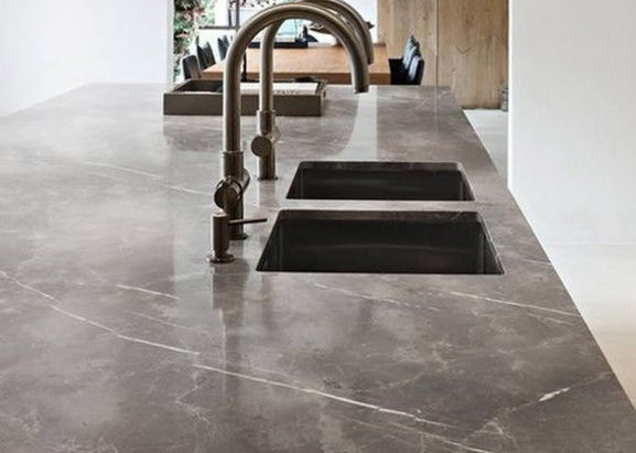 Marmer Zwart Keuken : Marmeren plaat keuken lei steen keuken lifts marmeren bank kook
