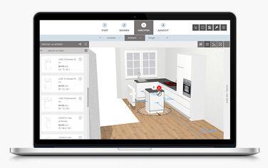 Ontwerp uw keuken in 3D