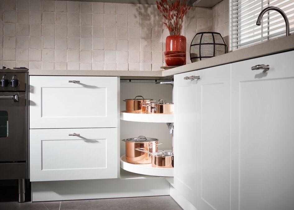 Landelijke Keuken In Beige En Wit Mandemakers Keukens