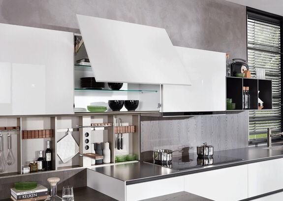 Rechte keuken met bar