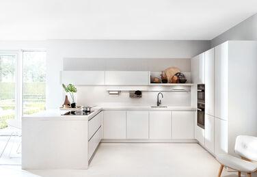 Keukens in één kleur