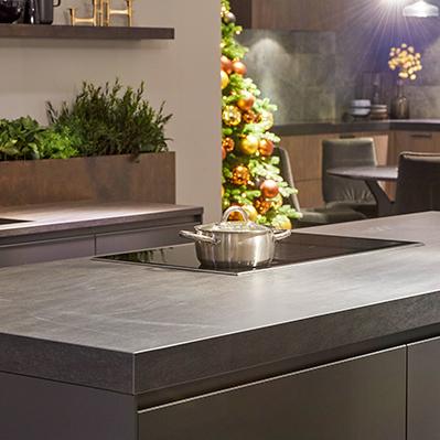 Granieten werkblad keuken