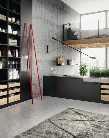 Industriële keuken SieMatic