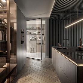 Siematic hoge keukenkast