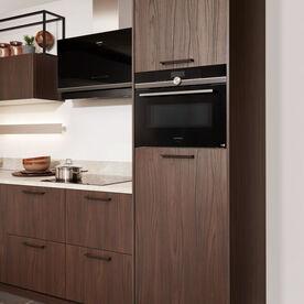 Rechte houten keuken
