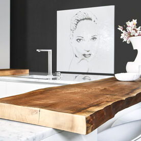 houten aanrechtblad