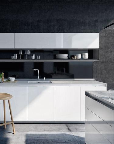 Strakke SieMatic keuken