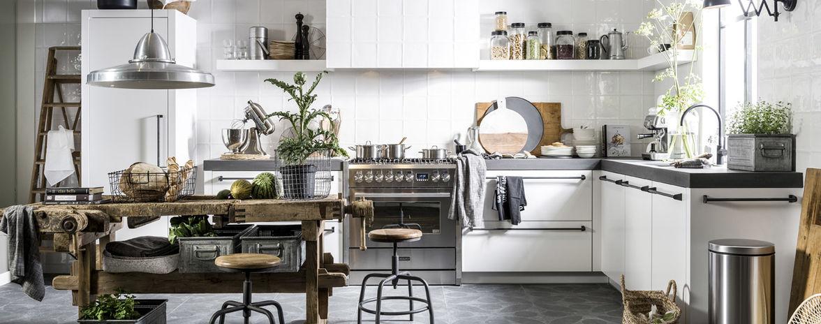 Witte Landelijke Keuken Mandemakers Keukens