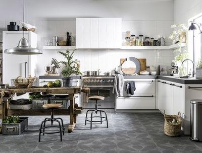 Industriële keukens strak van vorm en stoer qua sfeer