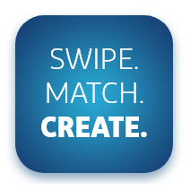 Logo Swipe.Match.Create