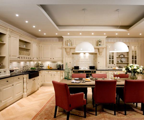 Spots verlichting in de keuken
