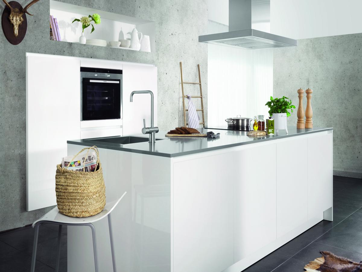 Moderne Witte Keukens : Vijftig tinten wit