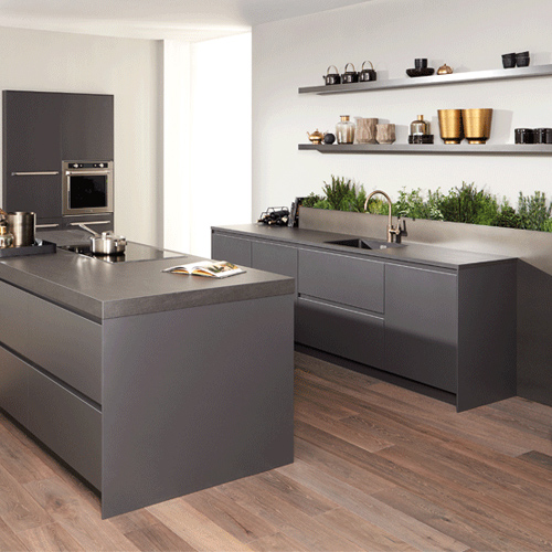 Moderne parallel keuken