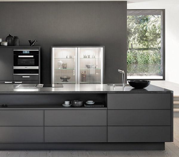 SieMatic keuken met buffetkast