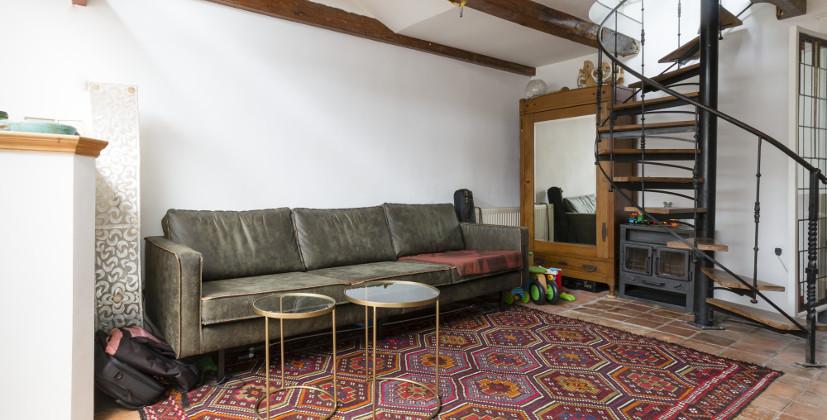 Haarlem woonkamer voor verbouwing
