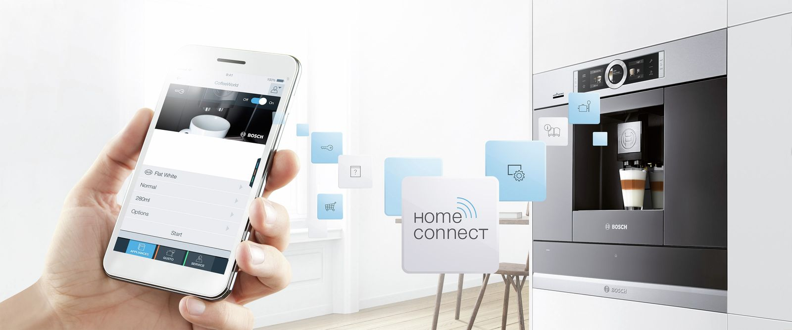 Home connect koffie