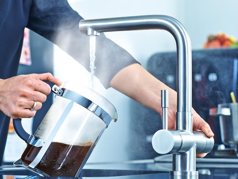 Kokend water kraan welke zijn er en wat zijn de voordelen