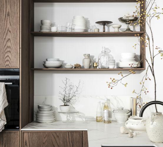VTwonen Keuken Hout bruin